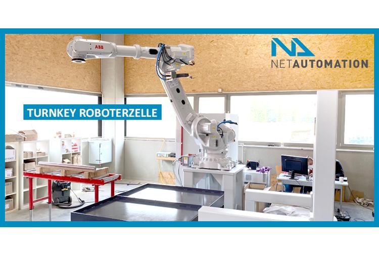 Turnkey Roboterzelle
