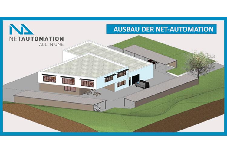 NETBEE Produktionslinie am neuen Standort