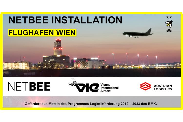 NETBEE Installation am Flughafen Wien