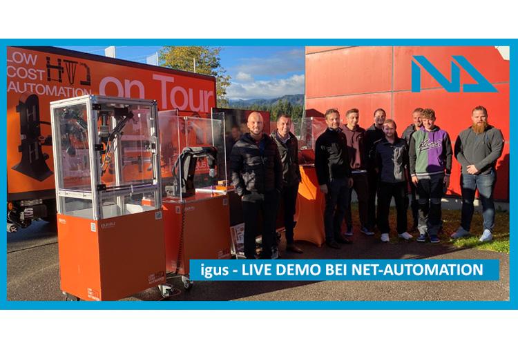 igus Live-Demonstration